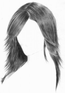 how to draw hair better